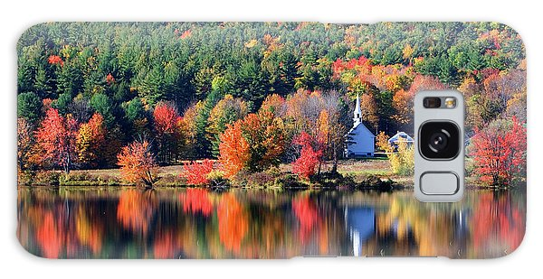 'little White Church', Eaton, Nh	 Galaxy Case