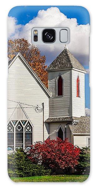 Little White Church Galaxy Case