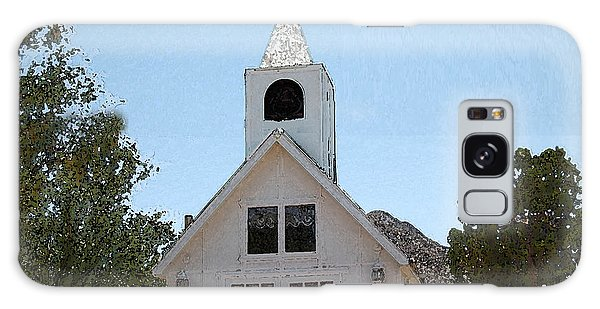 Little White Church Galaxy Case by Walter Chamberlain