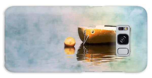 Little Yellow Boat Galaxy Case