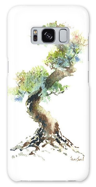 Little Zen Tree 1692 Galaxy Case