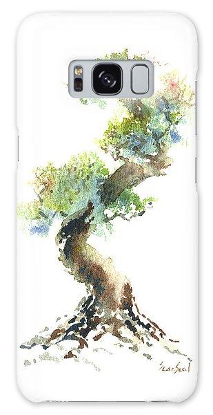 Little Zen Tree 1692 Galaxy Case by Sean Seal