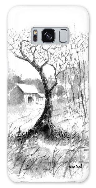 Little Zen Tree 1832 Galaxy Case by Sean Seal