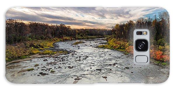 Littlefork River Galaxy Case