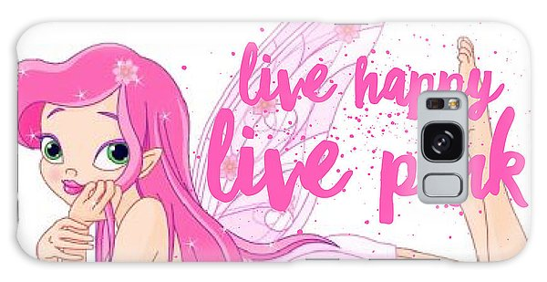 Galaxy Case - Live Happy Test by The Pink Princess Shop