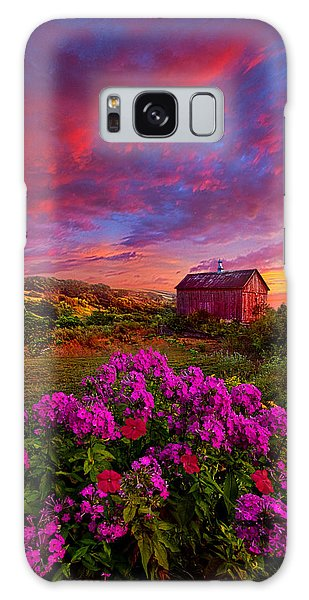 Galaxy Case featuring the photograph Live In The Moment by Phil Koch