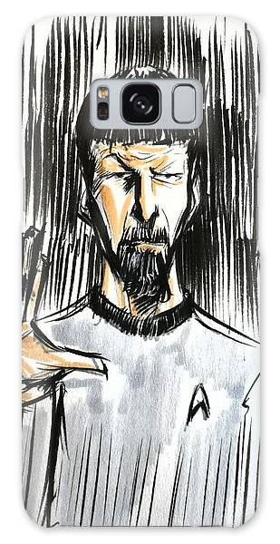 Live Long And Prosper...... Galaxy Case by Tu-Kwon Thomas