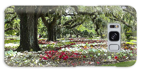 Galaxy Case featuring the photograph Live Oaks At Brookgreen Gardens by Bill Barber