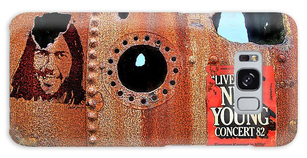 Neil Young Galaxy S8 Case - Live Rust, Neil Young by Mal Bray