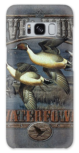 Live To Hunt Pintails Galaxy Case