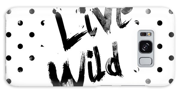 White Galaxy Case - Live Wild by Pati Photography