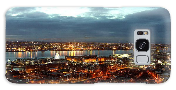 Liverpool City And River Mersey Galaxy Case