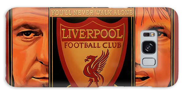 Premier League Galaxy Case - Liverpool Painting by Paul Meijering