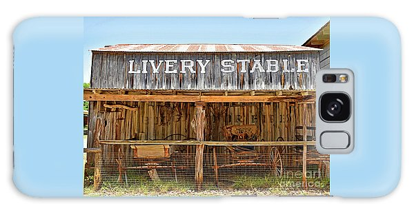 Livery Stable Galaxy Case by Ray Shrewsberry
