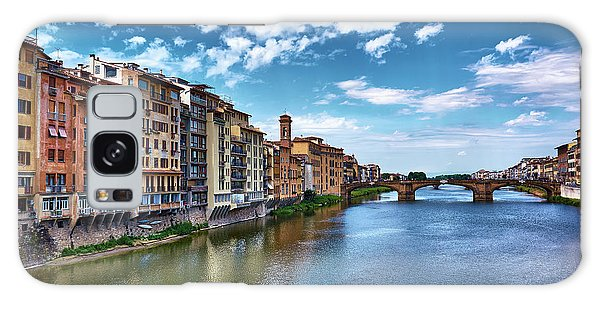 Living Next To The Arno River Galaxy Case