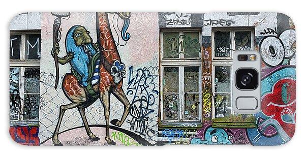 Galaxy Case featuring the photograph Ljubljana Graffiti - Slovenia by Stuart Litoff