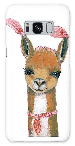 Llama Galaxy S8 Case - Llama by Blenda Studio