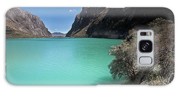 Llanganuco Lakes In Cordillera Blanca Galaxy Case