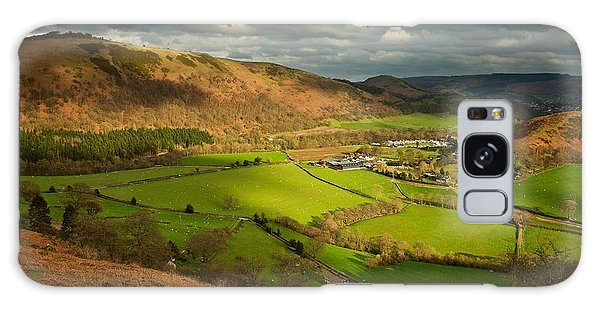 Llangollen In The Evening Light Galaxy Case