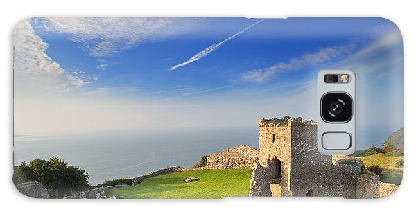 Llansteffan Castle 2 Galaxy Case