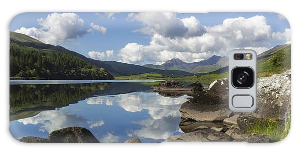 Llyn Mymbyr And Snowdon Panorama Galaxy Case