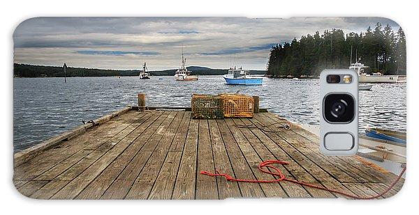 Lobster Boats Of Winter Harbor Galaxy Case