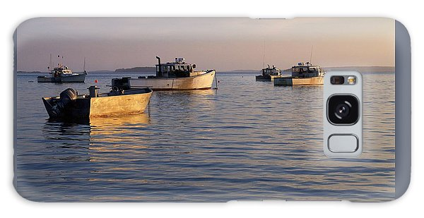 Lobster Boats Off Harpswell Maine Galaxy Case by Colleen Williams
