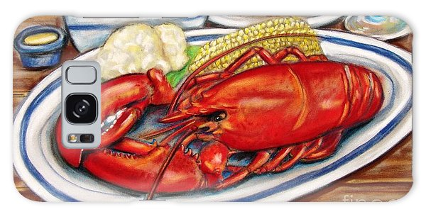 Lobster Dinner Galaxy Case