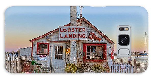 Lobster Landing Sunset Galaxy Case
