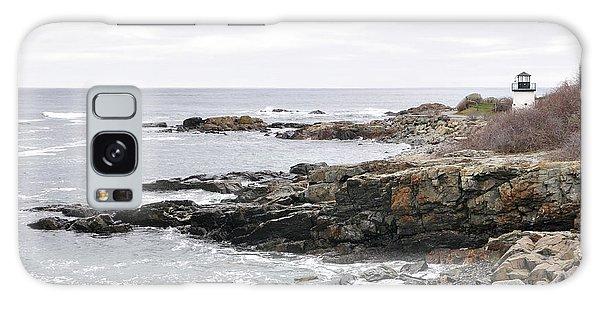 Lobster Point Lighthouse - Ogunquit Maine Galaxy Case