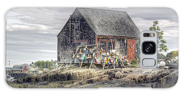 Lobsterman's Shack Of Mackerel Cove Galaxy Case