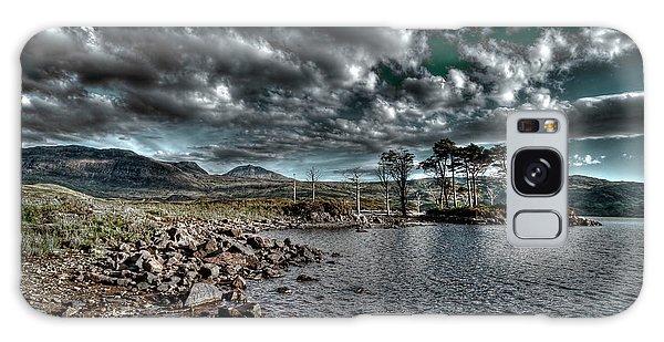Loch In The Scottish Highland Galaxy Case by Gabor Pozsgai