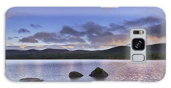 Cairngorms National Park Galaxy Case - Loch Morlich And The Cairngorm Mountains by Rod McLean