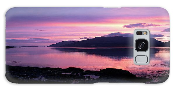 Loch Scridain Sunset Galaxy Case