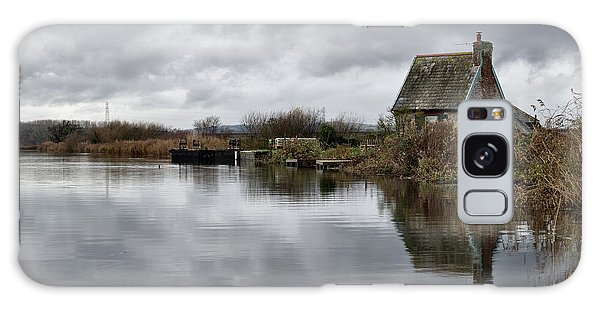 Lock Keepers Cottage At Topsham Galaxy Case