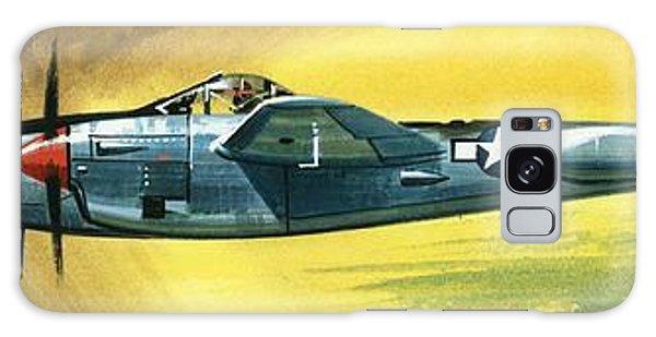 Airplane Galaxy S8 Case - Lockheed P-38j Lightning by Wilf Hardy
