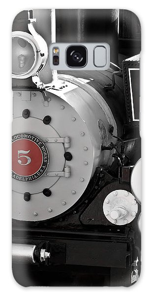 Locomotive Number Five Galaxy Case