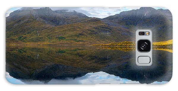 Galaxy Case featuring the photograph Lofoten Lake by James Billings
