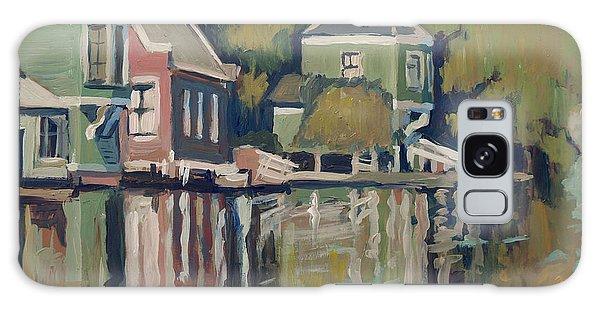 Lofts Along The River Zaan In Zaandam Galaxy Case