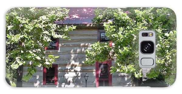 Log Cabin 5 - Lewes Delaware  Galaxy Case