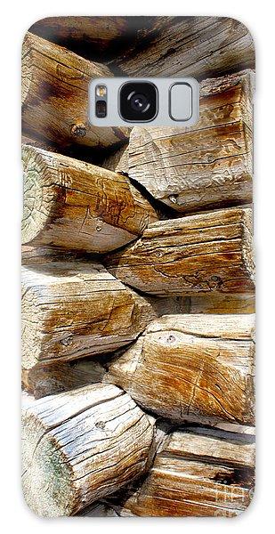 Log Cabin Corner Galaxy Case