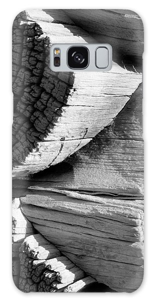 Galaxy Case - Log Cabin Detail by Bob Neiman