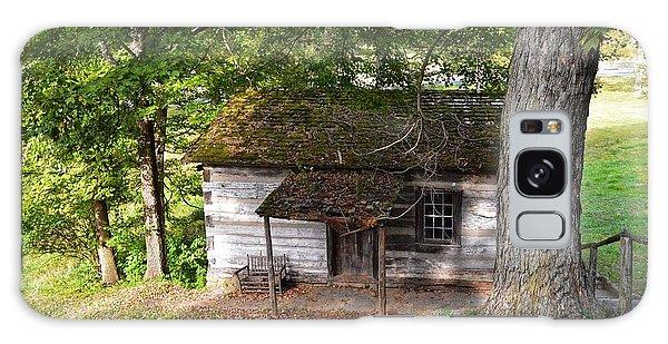 Log Cabin Galaxy Case