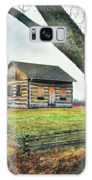 Log Cabin - Paradise Springs - Kettle Moraine State Forest Galaxy Case by Jennifer Rondinelli Reilly - Fine Art Photography