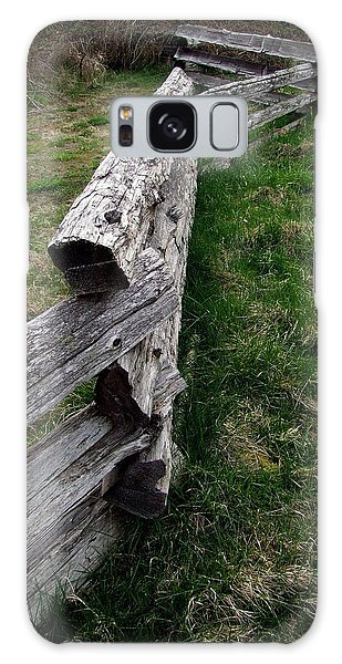 Log Fence Galaxy Case
