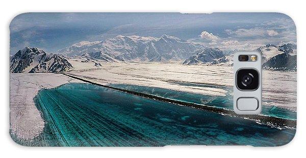 Logan Glacier Meltwater Galaxy Case