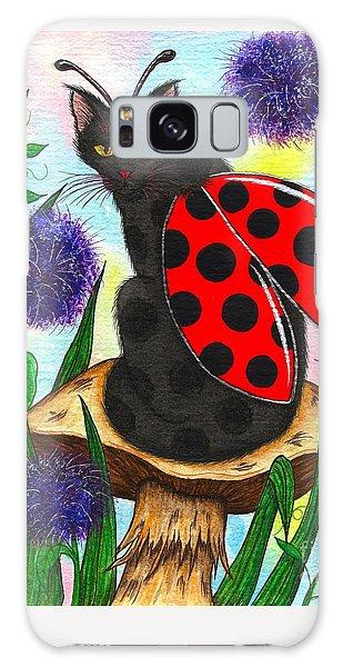 Logan Ladybug Fairy Cat Galaxy Case
