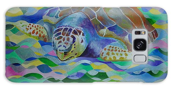 Loggerhead Turtle Galaxy Case by Tracey Harrington-Simpson
