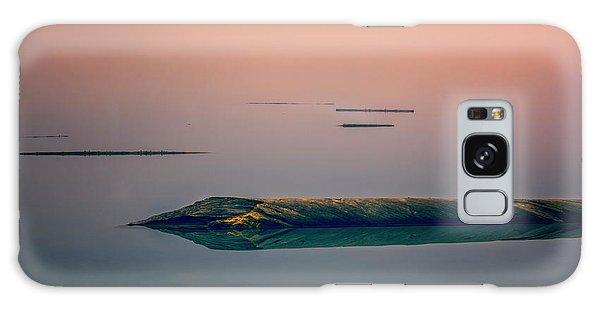 Moraine Lake Galaxy Case - Logs In The Fog by Joan Carroll