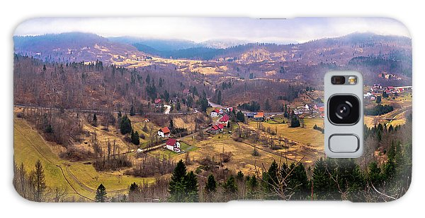 Lokve Valley In Gorski Kotar View Galaxy Case